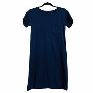 J. crew navy pocket t-short dress size XXS